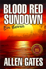 Blood Red Sundown by author Allen Gates