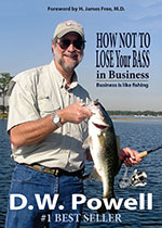 How Not to Lose Your Bass in Business by Dick W Powell