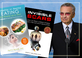 Invisible Scars & Unhealthy or Healthy Eating by Dr. Bart P Billings