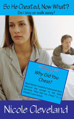 So He Cheated, Now What? Do I stay or walk away? by author Nicole Cleveland